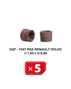 Airco Speciale pakking Daf-Fiat-PSA-Renault-Volvo Ø 7,50xH 8,80 (5 st.)
