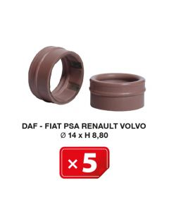 Airco Speciale pakking Daf-Fiat-PSA-Renault-Volvo Ø 14xH 8,80 (5 st.)