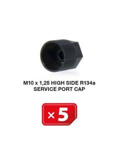 Airco Service Poort Kapje M 10 x 1.25 Hogedruk zijde R134a (5 st.)