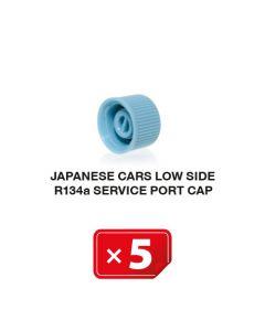 Japanse auto's Lagedruk zijde R134a Service Poort Kapje (5 st.)