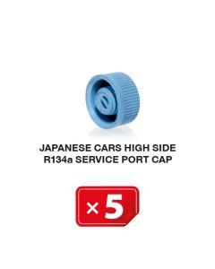 Japanse auto's Hogedruk zijde R134a Service Poort Kapje (5 st.)