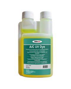 UV Additief- Lek Detector Vloeistof voor airco systemen met R134A en R1234yf, 250 ml
