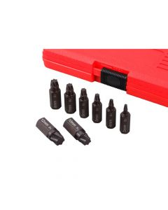 Schroefextractorset Torx Plus (8-delig)