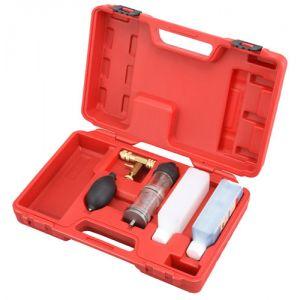 Set om te testen op lekkage van verbrandingsgassen (met verticale testkamers)