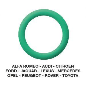 O-Ring Alfa-Audi-Citroen-Jaguar-Opel-etc. 20.40 x 3.50  (5 st.)