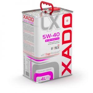 XADO Luxury Drive 5W-40 Synthetische Motorolie 4 liter