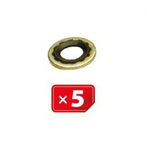 Compressor pakking Geel Ø15,70 mm (in) x Ø33,55 mm (uit) voor Harrison Compressor (verpakt per 5 stuks)