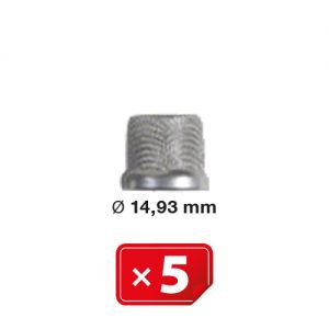 Airco Compressor Inlaatfilterzeef  Ø 14.93 mm (5 st.)