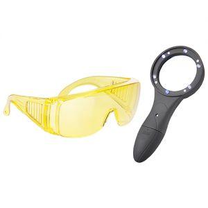 UV Vergrootglaslamp