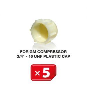 UNF Plastic Kapje voor GM Compressor 3/4