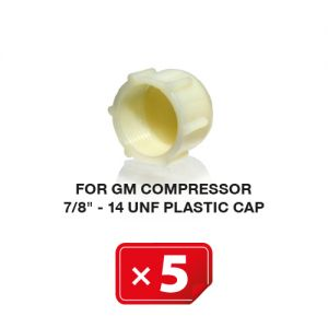 UNF Plastic Kapje voor GM Compressor 7/8