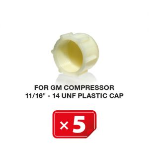 UNF Plastic Kapje voor GM Compressor11/16