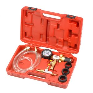 Set voor het vacuüm spoelen en bijvullen van het koelsysteem