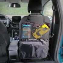 Auto Stoel Organizer - beschermhoes voor in de auto zwart 70 x 50 cm
