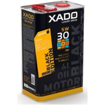XADO LX AMC Black Edition 5W-30 SM Synthetische Motorolie 4 liter
