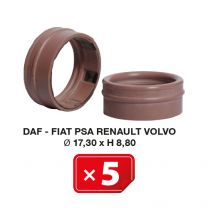Airco Speciale pakking Daf-Fiat-PSA-Renault-Volvo Ø 17.30xH 8,80 (5 st.)