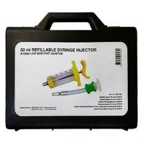 Injectiespuit R1234YF voor olie en UV lekdetectorvloeistof, 50 ml