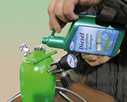 Roetfilter Reinigingsapparaat